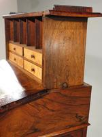 Very Good Quality Late 19th Century Rosewood Davenport (5 of 8)