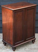 Unusual Georgian Small Proportioned Mahogany Cabinet / Cupboard with Interior Drawers (7 of 12)