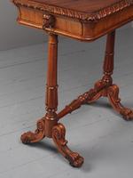 Antique Regency Mahogany Side Table (11 of 19)