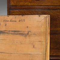 Antique Chest of Drawers, English, Oak, Tallboy, Early Victorian c.1840 (5 of 12)