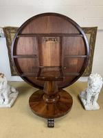 Large English Regency Rosewood Centre Table (4 of 6)