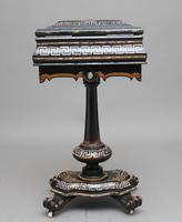 19th Century papier-mache work table (11 of 14)