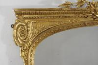 19th Century Gilt Overmantle Mirror (5 of 12)