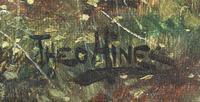 Scottish Loch, Signed: Theodore Hines (4 of 5)