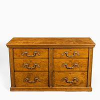 Fine George IV Burr Oak Chest of Drawers in the manner of Morel and Seddon (2 of 9)