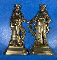 Pair of Victorian Brass Door Stops (4 of 16)