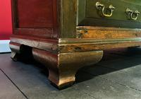 Beautiful 18th Century Georgian Period English Country Oak Mule Chest Sideboard Cabinet (14 of 19)