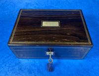 Victorian Coromandel Jewellery Box (3 of 11)