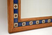 Large Mexican Tiled Mirror Vintage 1950's (6 of 10)