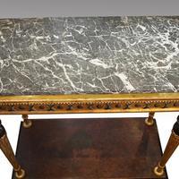 19th Century Swedish Gilt Console Table (9 of 10)