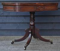 Elegant Regency Mahogany D-end Tea Table / Side Table / Hall Table  c.1820 (2 of 11)