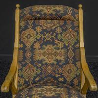 Arts & Crafts Oak Armchair (7 of 7)