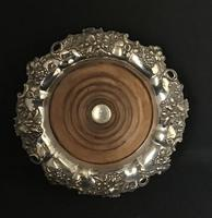Georgian Silver Plated Bottle Coaster (4 of 5)