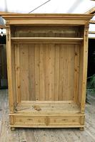 Fabulous & Exceptional Quality! Big Old Pine Double 'Knock Down' Wardrobe (16 of 17)