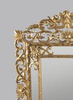 Large 19th Century Carved Giltwood Marginal Overmantle Mirror (8 of 16)