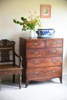19th Century Antique Mahogany Chest of Drawers (2 of 11)
