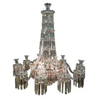 19th Century Crystal Tent & Waterfall Chandelier (17 of 18)