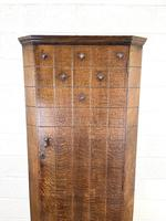 Early 20th Century Antique Oak Hall Cupboard (3 of 9)