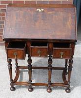 1850s Early Style Walnut Bureau (2 of 7)
