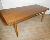 Large Swedish Teak Coffee Table by Alberts (9 of 9)