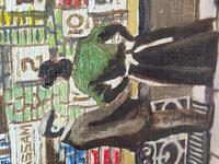 """Figurative Art Oil Painting Manchester Market Place """"The Street Traders"""" by Patrick Burke (22 of 34)"""