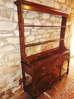 Georgian Oak Sussex Dresser with Rack (4 of 11)