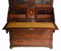 George III Bureau Bookcase Antique 1790 Desk (6 of 14)