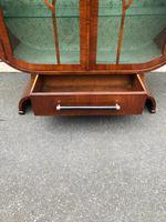 Art Deco Walnut Display Cabinet (5 of 13)
