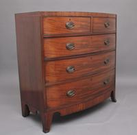 19th Century Georgian Bow Front Chest (3 of 9)