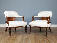 Pair of Edwardian Parlour Chairs (5 of 5)