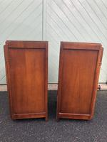 Pair of Antique Oak Bedside Cabinets (6 of 8)