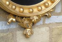 Outstanding Regency Giltwood Mirror With Eagle Crest (6 of 10)