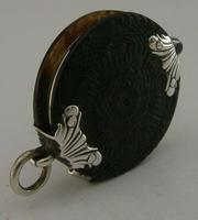 Rare Georgian English Solid Sterling & Horn Silver Magnifying Glass c.1800 (2 of 9)