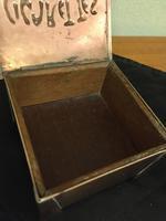 Arts & Crafts Copper Cigarette Box (7 of 8)