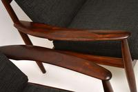 1960's Pair of Danish Rosewood Armchairs by Grete Jalk (7 of 12)