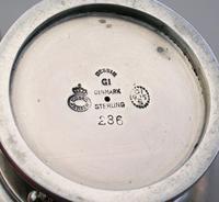 Danish Silver 3-piece Cruet Set Pattern #236 (10 of 12)