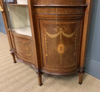 Maple & Co Inlaid Mahogany Display Cabinet (6 of 17)
