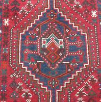 Samll Antique Kashgai Carpet (3 of 4)