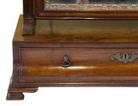 George III Mahogany Toilet Mirror with Single Drawer (4 of 6)