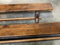 French Farmhouse Dining Table & Benches Set (13 of 33)