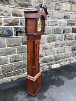 Early Antique Weight Driven Granddaughter Clock (8 of 13)