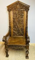 Gothic Revival Throne (7 of 20)