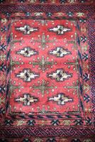 Afghan Red Saddle Bag Cushion Cover (5 of 9)