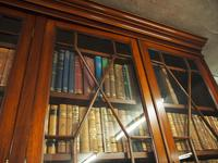 Large George III Style Mahogany 6 Door Cabinet Bookcase (13 of 17)