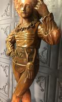 Italian Carved Hardwood Figure of a Boy (6 of 23)