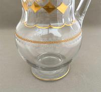 Superb Victorian Etched & Gilded Water Jug (4 of 4)