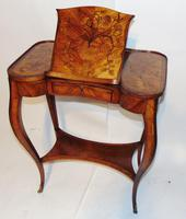 Louis XV Kingwood & Marquetry Poudreuse