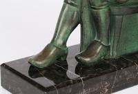 Max Le Verrier Pair Art Deco Patinated Bronze The Cobbler & The Financier Bookends (5 of 18)