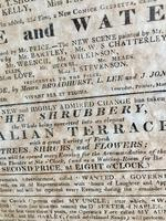 Antique Theatre Poster 1817 was the English Opera House, Now Lyceum, London Rare (5 of 7)