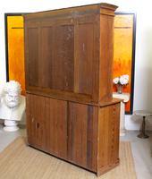 Oak Pine School Cabinet 19th Century (12 of 12)